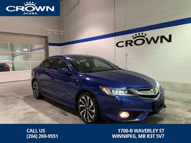 Pre-Owned 2017 Acura ILX 4dr Sdn A-Spec