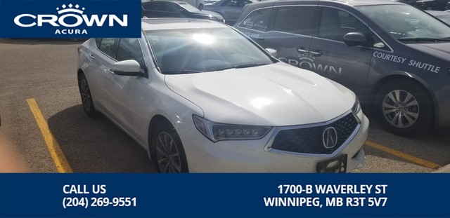 Pre-Owned 2018 Acura TLX Elite All Wheel Steering **0.9% Finance Rate** No Charge Extended Warranty**