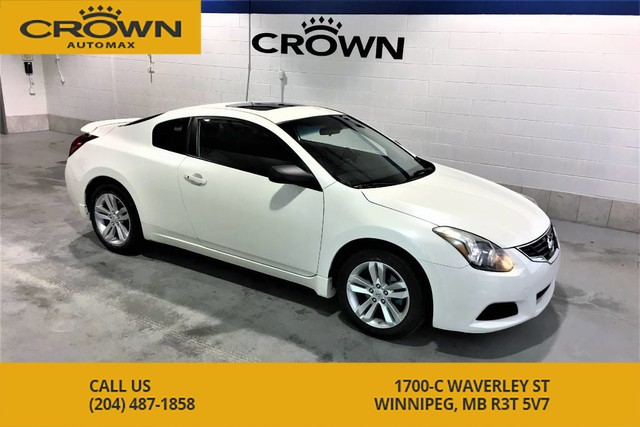 Pre-Owned 2011 Nissan Altima 2.5 S **Rare Coupe** Sunroof** Heated Seats**