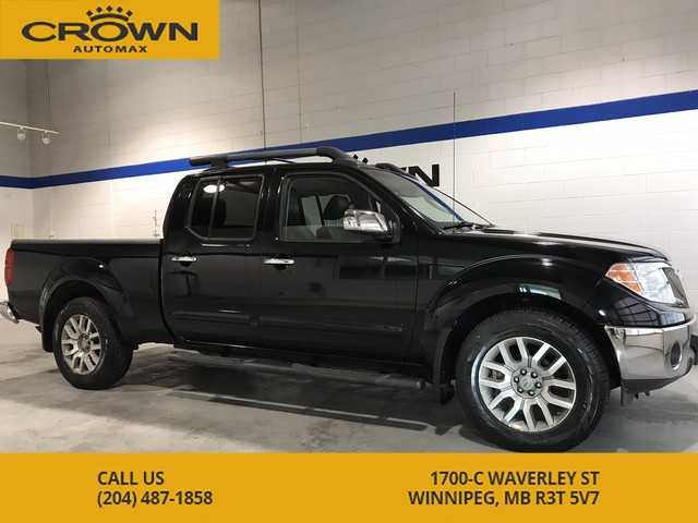 Pre Owned  Nissan Frontier Sl Crew Cab X Leather