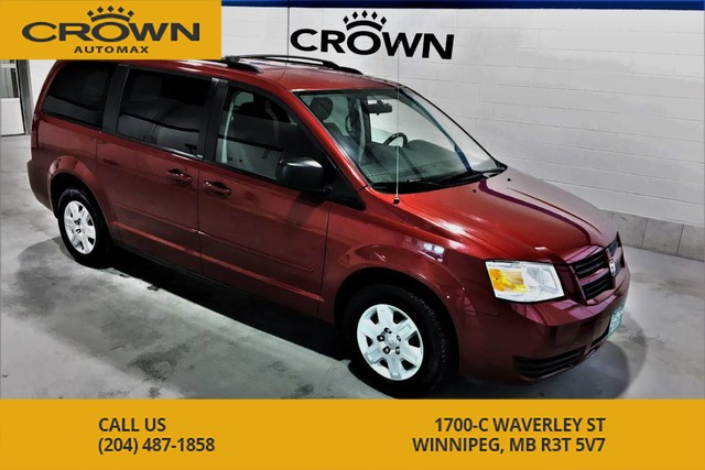 Pre-Owned 2008 Dodge Grand Caravan SE **Stow and Go** Rear Heat and Air** Power Windows**