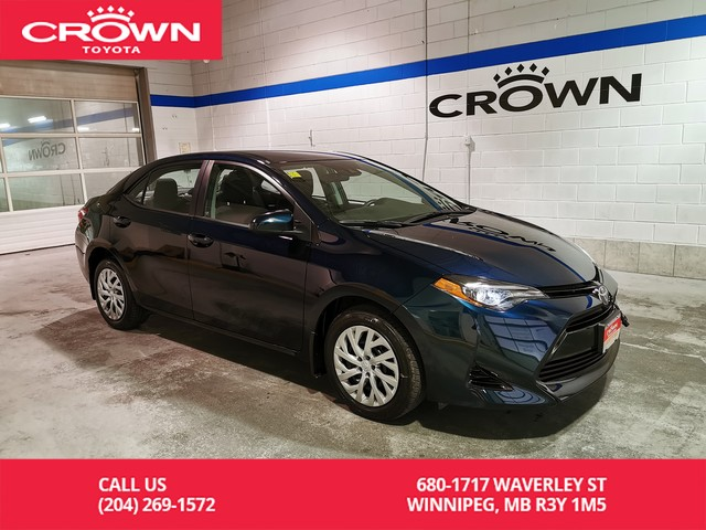 Certified Pre-Owned 2017 Toyota Corolla LE / Crown Original / Clean Carproof / Low Kms / Lease Return