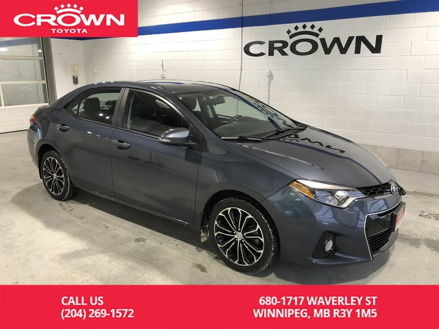 Certified Pre-Owned 2016 Toyota Corolla S Upgrade Package / Local / Low Kms / Immaculate Condition / Great Value