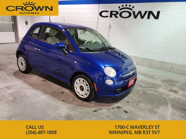 Pre-Owned 2012 FIAT 500 2dr HB Pop