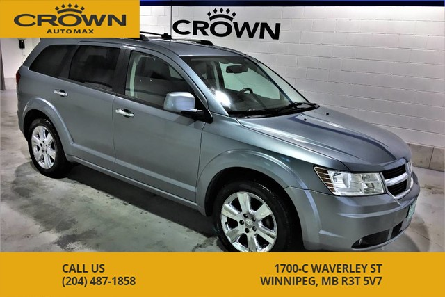 Pre-Owned 2010 Dodge Journey R/T AWD **7 Passenger** DVD Player** Heated Leather Seats**