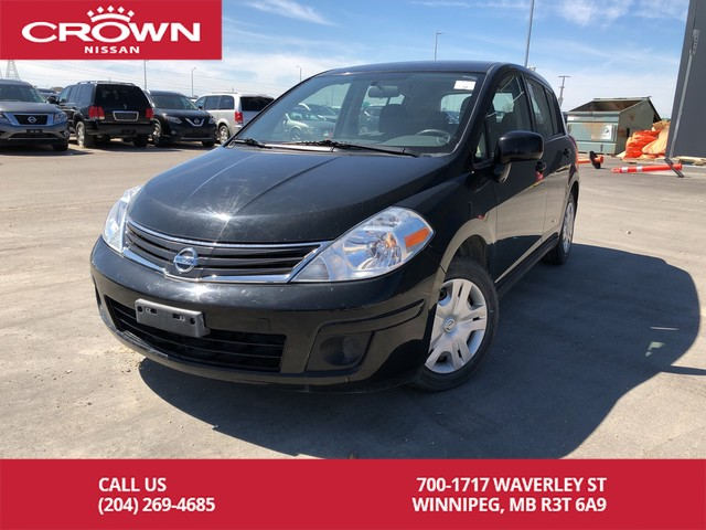 Pre-Owned 2010 Nissan Versa Hatchback 5 Speed Manual *Serviced With Us*