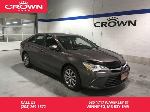 Certified Pre-Owned 2017 Toyota Camry V6 XLE Fully Loaded / Clean Carproof / Local / One Owner / Immaculate Condition