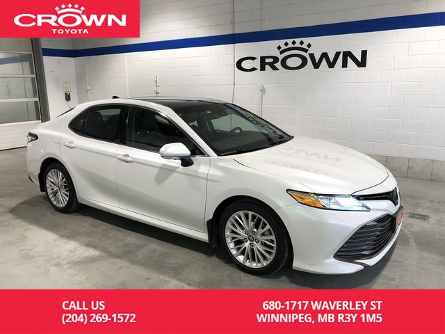 Certified Pre-Owned 2018 Toyota Camry XLE V6 / Fully Loaded / Heads Up Display / Local / One Owner / Immaculate Condition / Great Value