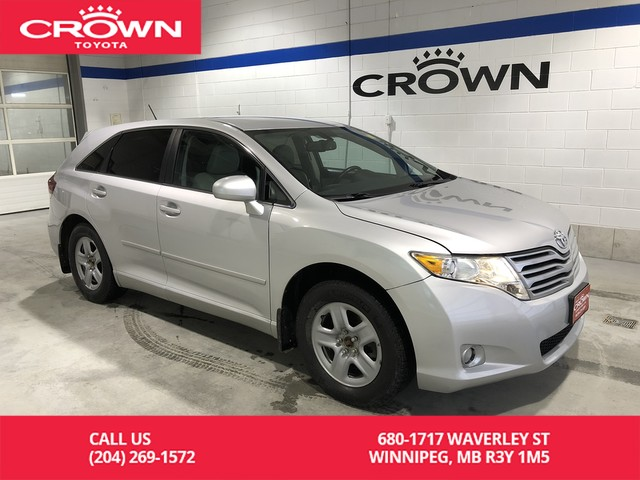 Pre-Owned 2010 Toyota Venza 4dr Wgn / One Owner / Local / Great Value