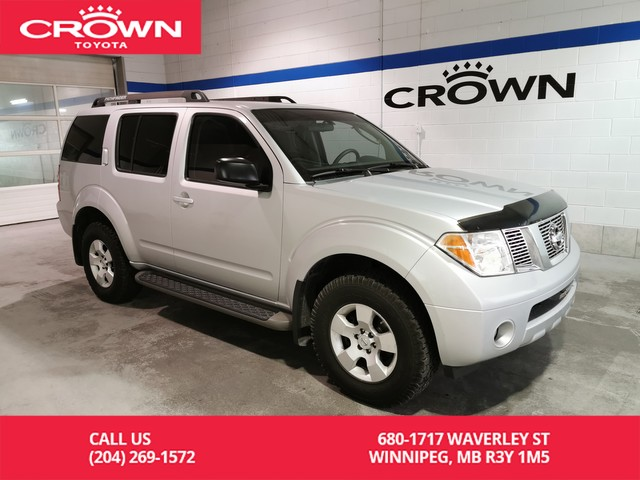 Pre-Owned 2007 Nissan Pathfinder S 4WD / Clean Carproof / Body on Frame / Great Condition