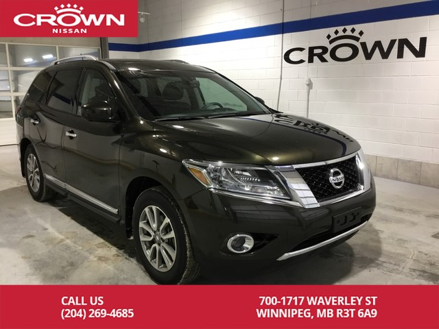 Certified Pre-Owned 2015 Nissan Pathfinder SL **Certified Pre Owned/Leather/4X4**