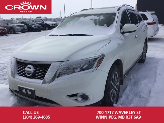 Pre-Owned 2014 Nissan Pathfinder SL **Leather/Heated Seats/4X4** Four Wheel  Drive SUV