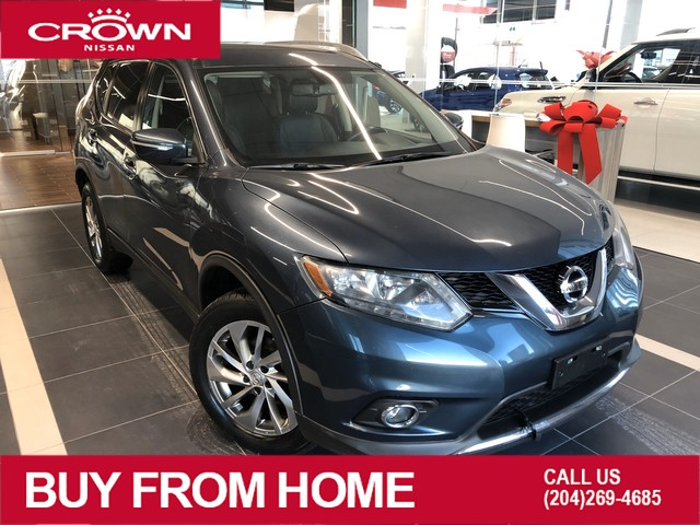Pre-Owned 2014 Nissan Rogue SL AWD *Accident Free/ One Owner/Leather/Crown Original*