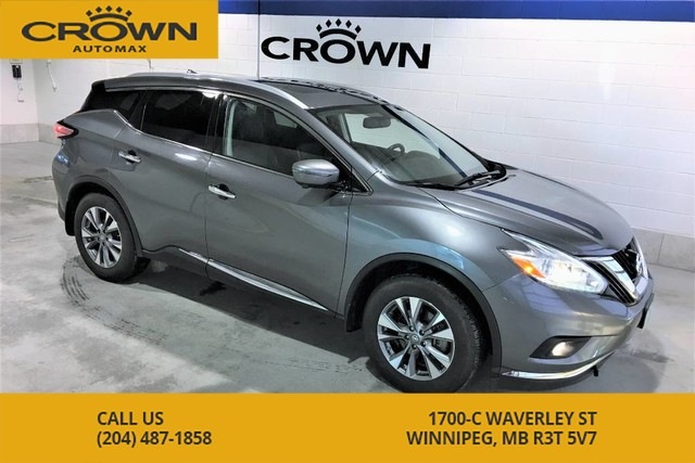 Pre-Owned 2016 Nissan Murano SL AWD **Heated Leather Seats** Sunroof** Navigation**