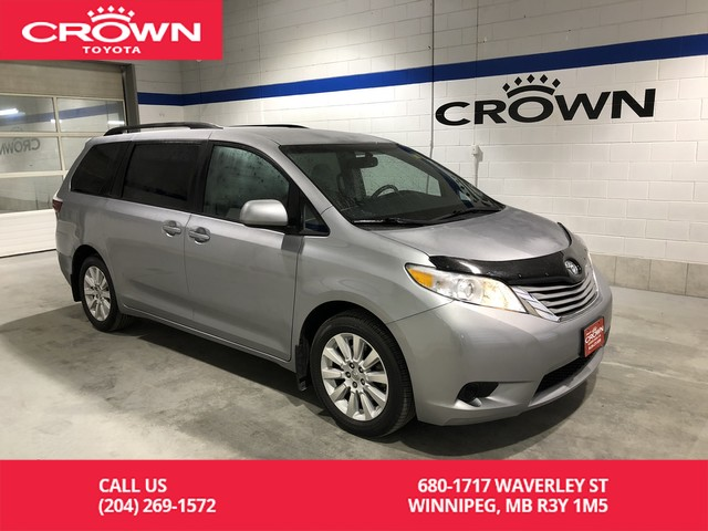 Certified Pre-Owned 2015 Toyota Sienna LE 7-Pass AWD / Local / One Owner / Great Condition / Best Value In Town