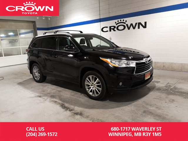 Certified Pre-Owned 2015 Toyota Highlander XLE AWD / One Owner / Local / Leather / Great Condition / Unbeatable Value