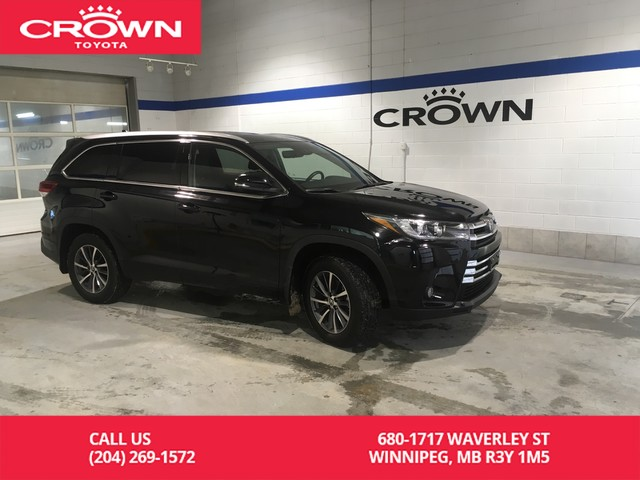 Certified Pre-Owned 2018 Toyota Highlander XLE AWD / Accident Free / One Owner / Local / Low Km / Immaculate Condition