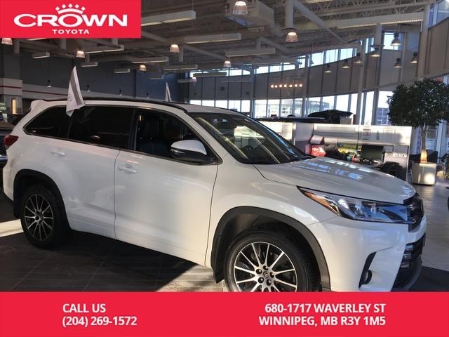 Certified Pre-Owned 2017 Toyota Highlander SE AWD / Clean Carproof / Local / One Owner / Lease Return / Great Condition / Unbeatable Value