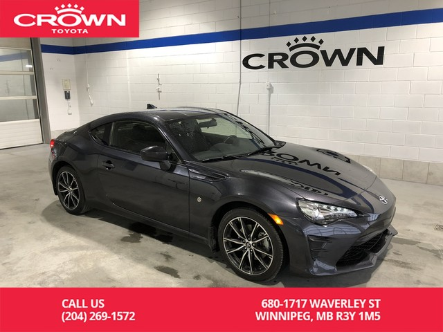 Certified Pre-Owned 2017 Toyota 86 2dr Cpe Manual / Local / One Owner / Clean Carproof / Immaculate Condition / Superb Handling