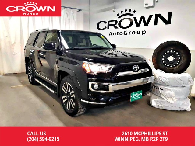 Used Tires Winnipeg >> Pre Owned 2017 Toyota 4runner Sr5 4wd One Owner Navigation Heated Seats Winter Tires Four Wheel Drive Suv