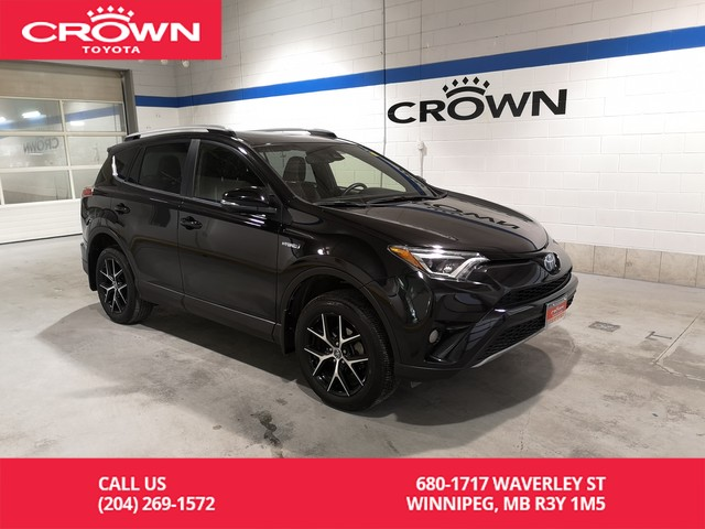 Certified Pre-Owned 2017 Toyota RAV4 Hybrid SE Hybrid AWD / Clean Carproof / Local / One Owner / Immaculate Condition