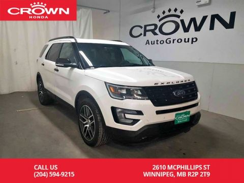 Pre-Owned 2017 Ford Explorer Sport/***2018 FINAL CLEARANCE*** 4wd/8 seater/ sunroof/back up cam/low kms/ heated mirrors