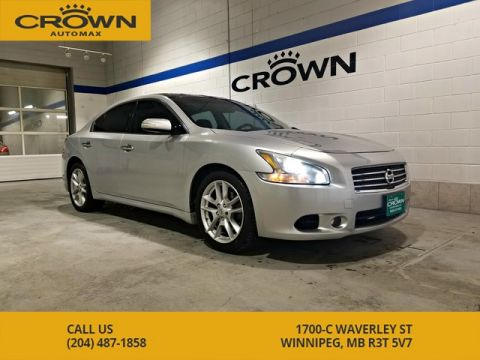 Pre-Owned 2009 Nissan Maxima SV **Leather** Panoramic Roof** Heated Steering Wheel**