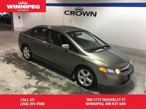 Pre-Owned 2007 Honda Civic Sdn LX/Alloy wheels/Air conditioning/Cruise