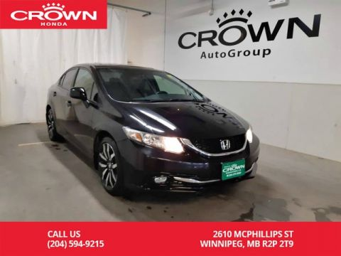 Pre-Owned 2013 Honda Civic Sdn Touring/ accident-free/ low kms/ navigation/ back up cam/ econ mode/ sunroof/ bluetooth