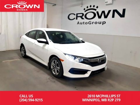 Certified Pre-Owned 2016 Honda Civic Sedan LX/ ACCIDENT-FREE/ VERY LOW KMS/ BACK UP CAM/ HEATED SEATS/ ECON MODE