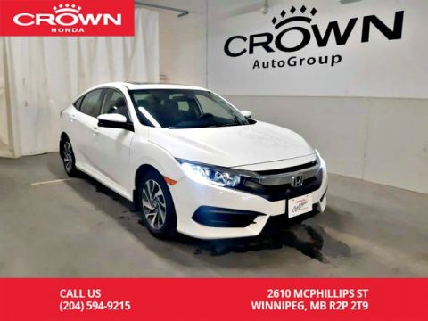 Certified Pre-Owned 2016 Honda Civic Sedan EX/ one owner lease return/ lane watch bind spot monitor/sunroof