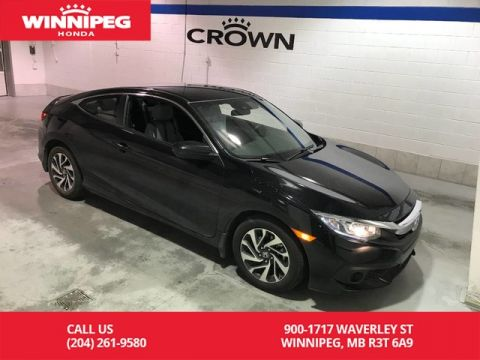 Certified Pre-Owned 2018 Honda Civic Coupe Certified/LX CVT w/Honda Sensing/Heated seats/Bluetooth