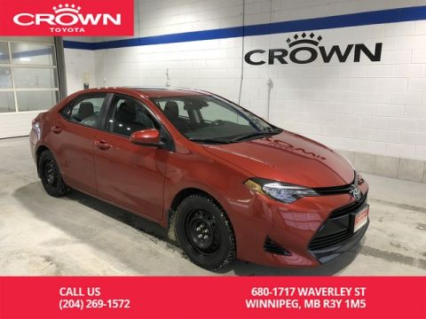 Certified Pre-Owned 2017 Toyota Corolla LE CVT Upgrade Pkg / One Owner / Local / Lease Return / Great Value
