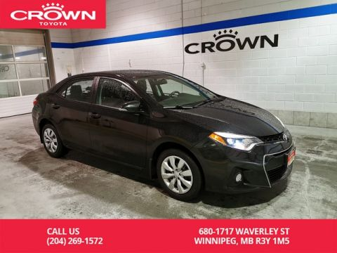 Certified Pre-Owned 2016 Toyota Corolla S / Crown Original / Lease Return / Clean Carproof / Great Condition