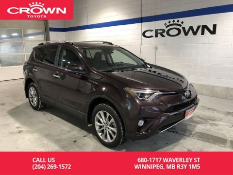 Certified Pre-Owned 2017 Toyota RAV4 Limited AWD / Accident Free / Local / One Owner / Immaculate Condition / Lease Return / Great Value