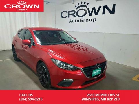 Pre-Owned 2016 Mazda3 SPORT GS MT/ONE OWNER/ ACCIDENT-FREE HISTORY/ LOW KMS/ NAVIGATION SYS/PUSH START BUTTON/BACK UP CAM