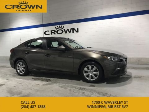 Pre-Owned 2015 Mazda3 GX **Push Button Start** Local Lease Return** Air Conditioning**