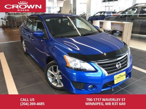 Pre-Owned 2014 Nissan Sentra SR Sedan *Bluetooth/Push Button Start*