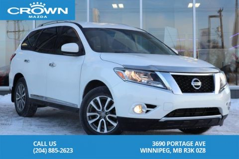 Pre-Owned 2014 Nissan Pathfinder 4WD SL Tech *7 SEATER *HEATED LEATHER SEATS *TOW PACKAGE