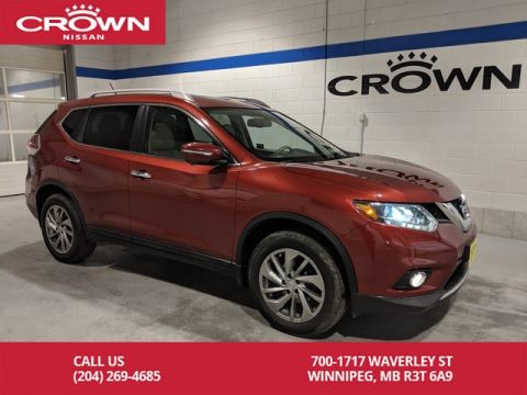Pre-Owned 2014 Nissan Rogue SL AWD **Navigation/Leather/Sunroof**