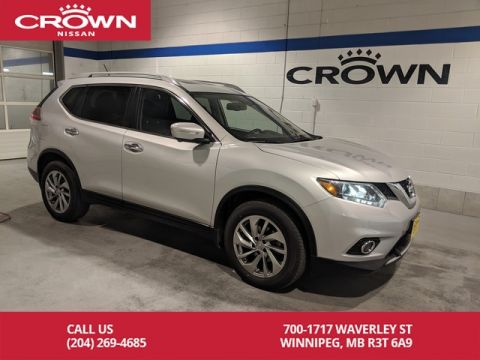 Pre-Owned 2015 Nissan Rogue SL *Sunroof/Leather*