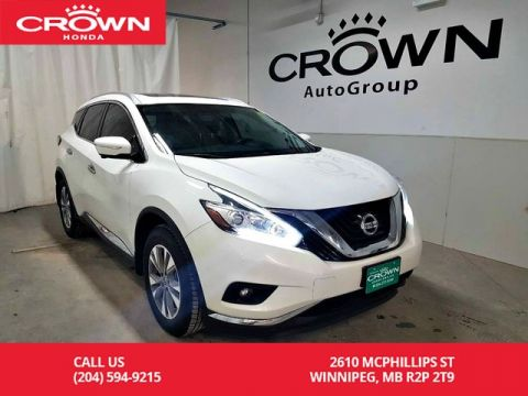 Pre-Owned 2015 Nissan Murano SL/***Saint Patrick's Day Sale***ACCIDENT-FREE HISTORY/ ONE OWNER/ push start button/ back up cam/heated seats
