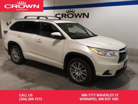 Certified Pre-Owned 2016 Toyota Highlander XLE AWD / Lease Return / Local / Navigation / Leather
