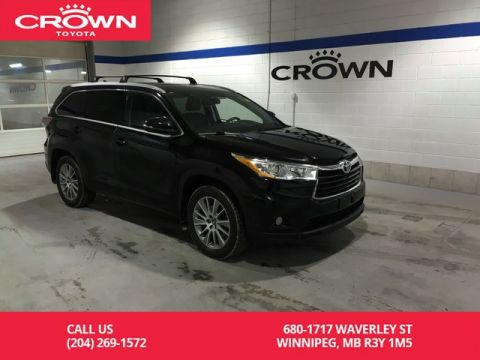 Certified Pre-Owned 2016 Toyota Highlander XLE 4WD / Clean Carproof / Local / One Owner / Low Kms / Great Condition