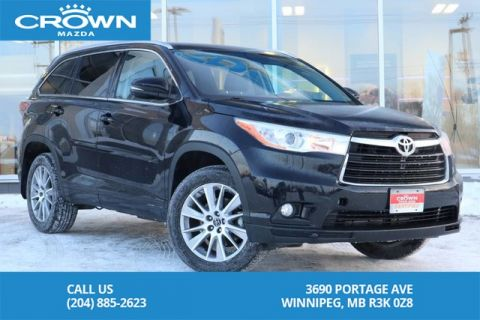 Pre-Owned 2016 Toyota Highlander XLE *LOCAL TRADE *IMMACULATE CONDITION