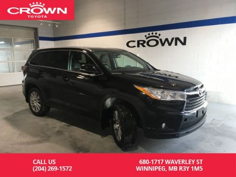Certified Pre-Owned 2016 Toyota Highlander XLE AWD / One Owner / Local / Good Service Record / Great Value