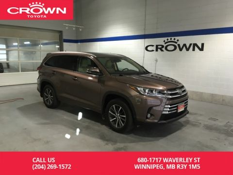 Certified Pre-Owned 2017 Toyota Highlander XLE AWD / Lease Return / Local / One Owner / Navigation / Leather