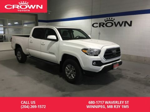 Certified Pre-Owned 2018 Toyota Tacoma 4x4 Double Cab V6 Auto SR5 / Clean Carproof / Lease Return / One Owner / Local / Immaculate Condition