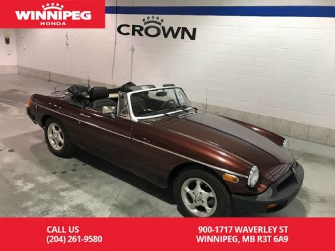 Pre-Owned 1978 MG MGB / NO SAFETY / GREAT RESTORATION CAR