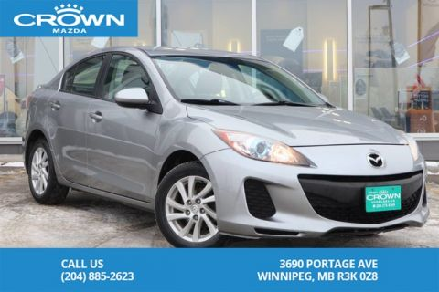 Pre-Owned 2012 Mazda3 GS-SKY AUTO *HEATED SEATS *LOCAL VEHICLE